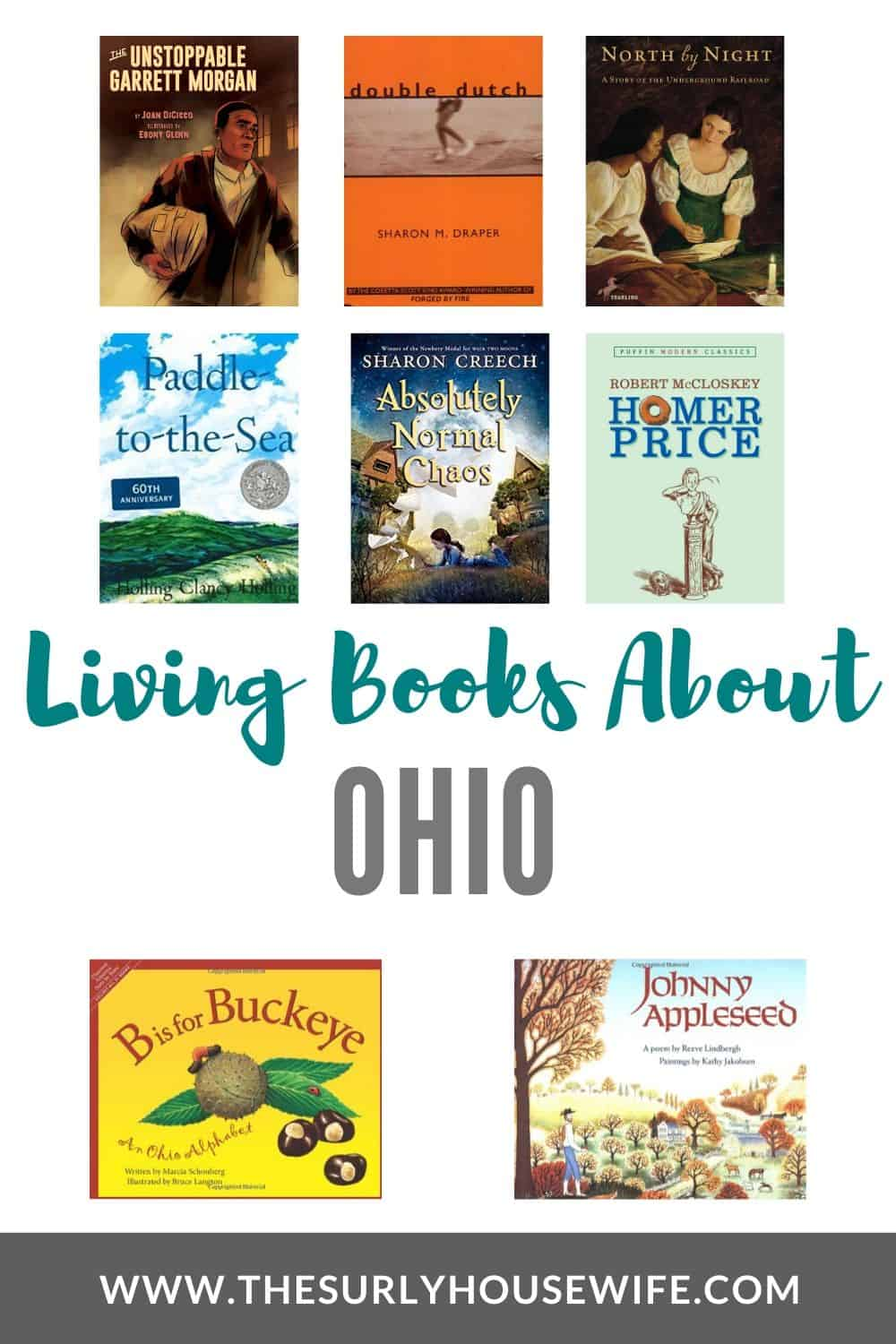 Need children's books about Ohio? This book list includes picture books about Ohio as well as chapter books set in Ohio, perfect for an Ohio unit study!