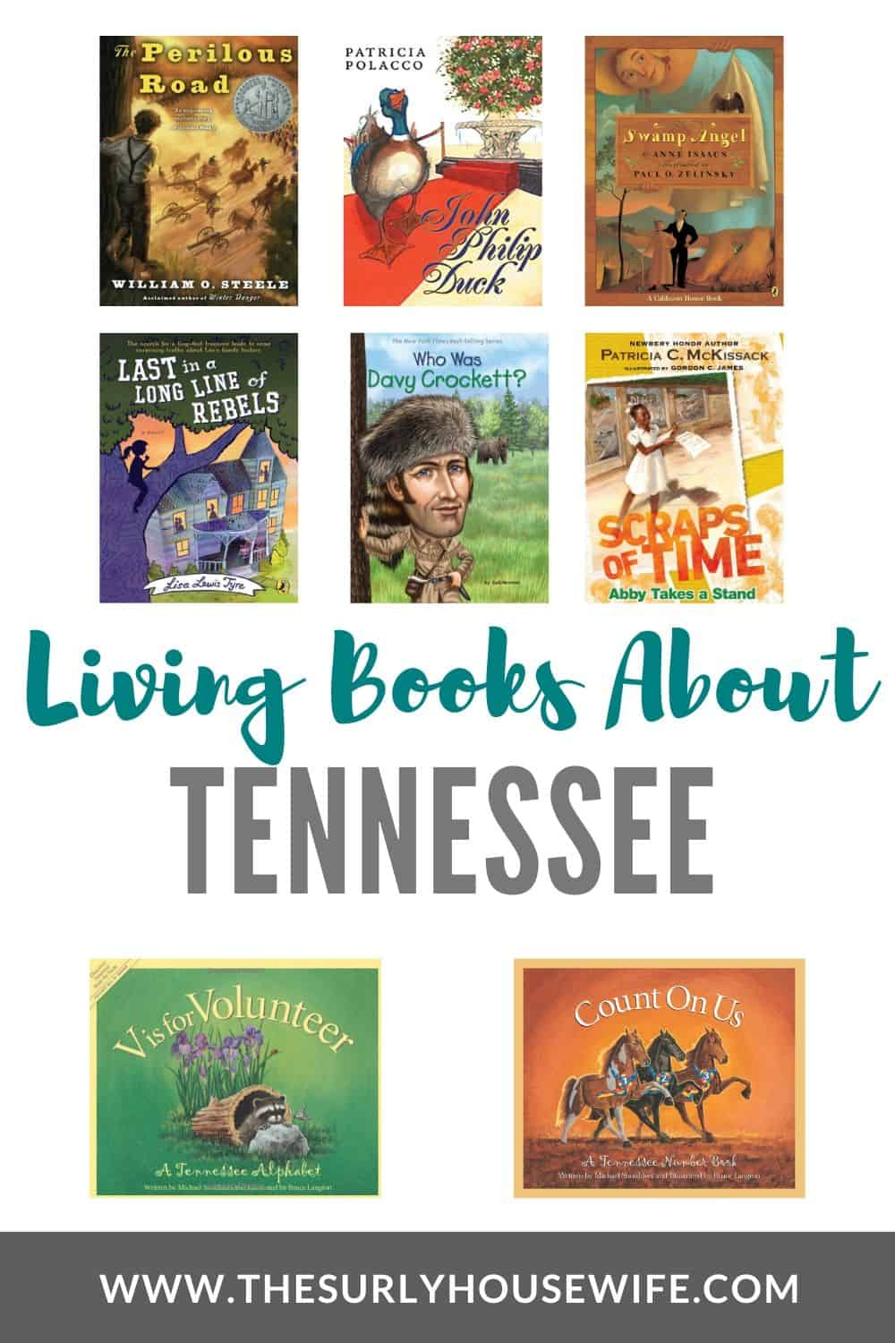 Searching for books about Tennessee, then check out this post! It has children's books, chapter books, and picture books perfect for a state unity study!