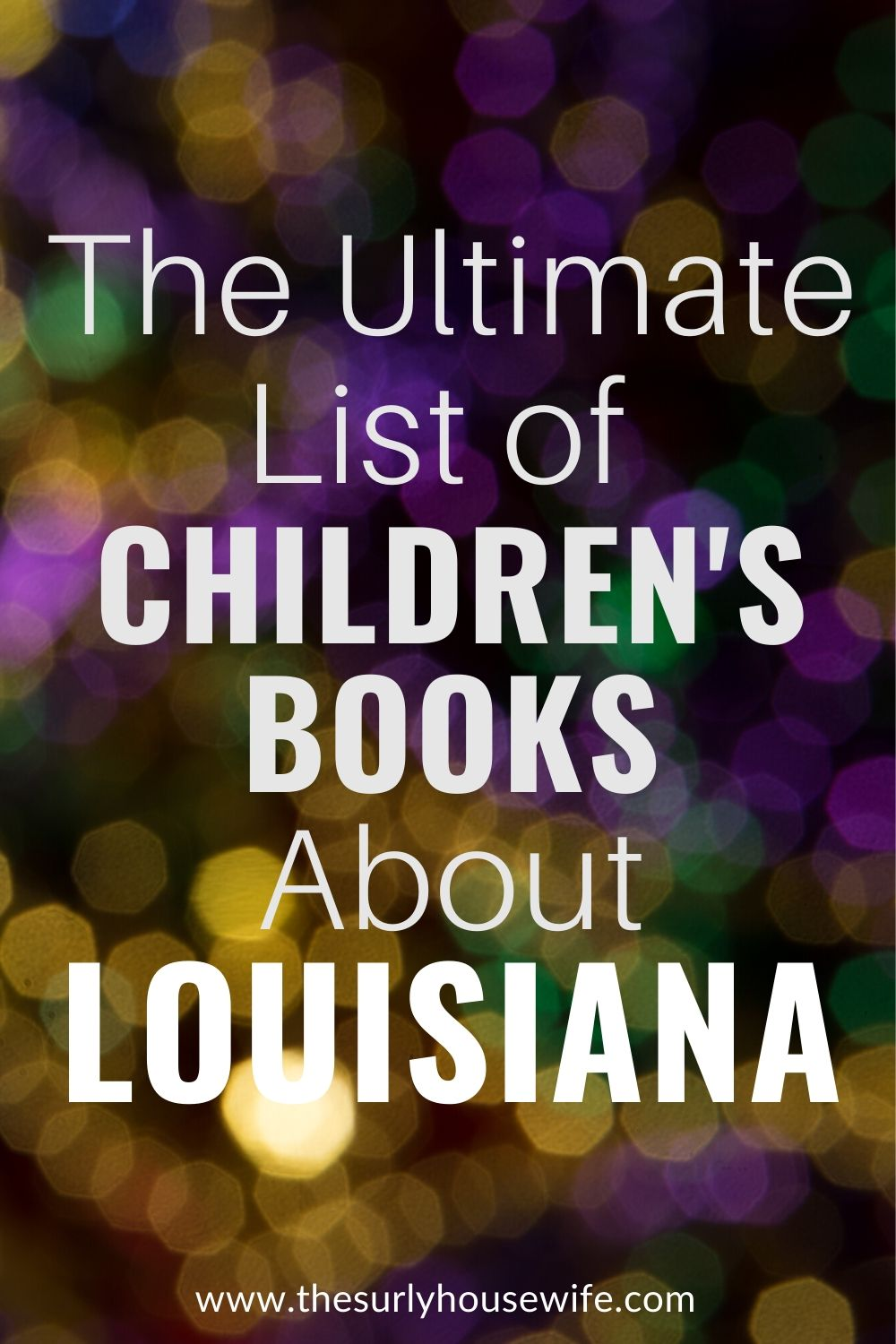 Need children's books about Louisiana? This book list includes picture books about Louisiana as well as chapter books set in Louisiana, and children's books about Hurricane Katrina. Perfect for a Louisiana unit study!