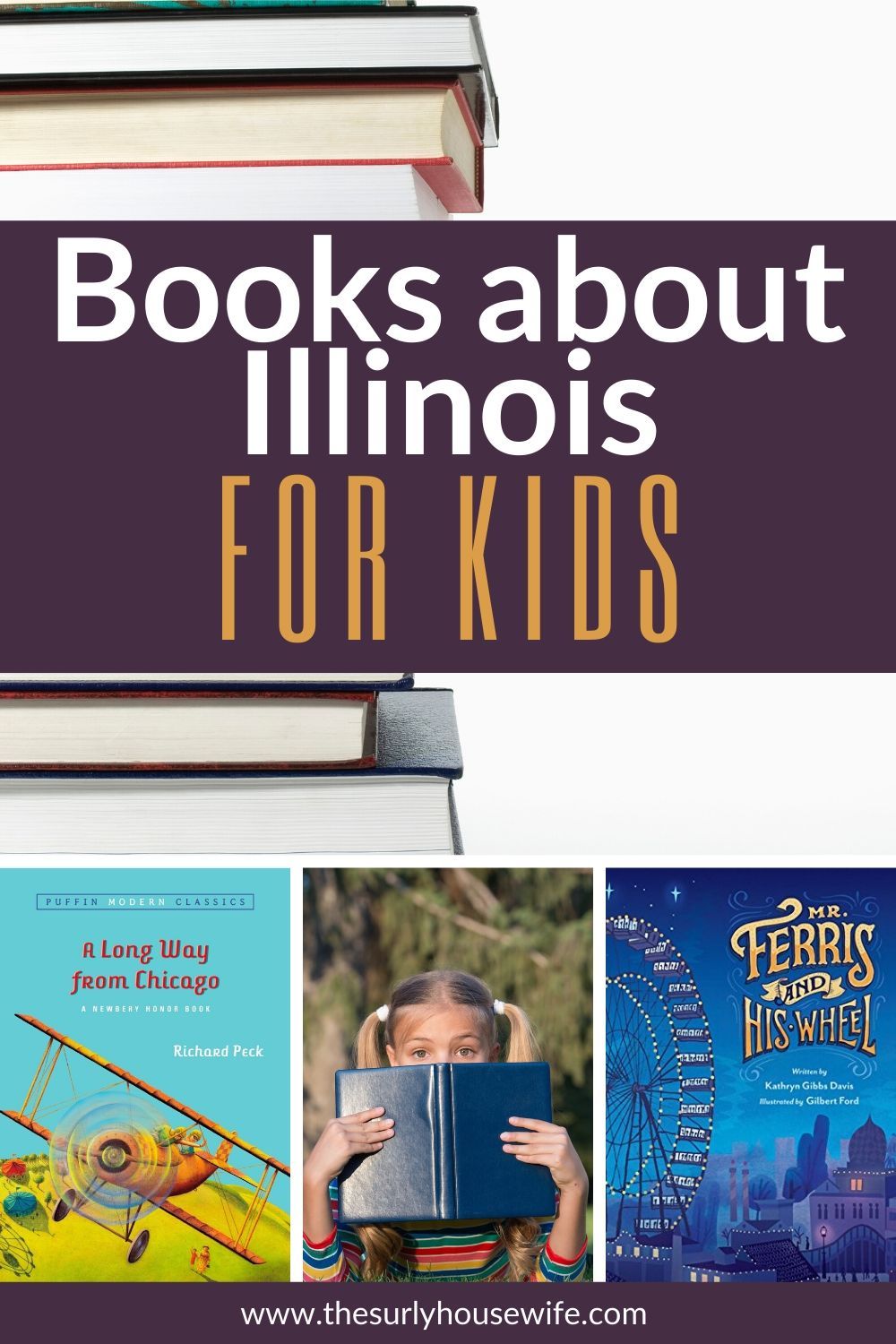 Searching for children's books about Illinois? This book list includes picture books and chapter books about the state of Illinois and as well as picture and chapter books set in Chicago!