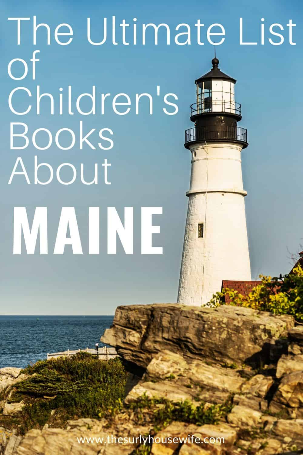 Searching for books about Maine, then check out this post! It contains children's books, chapter books, and picture books about the Pine Tree State!
