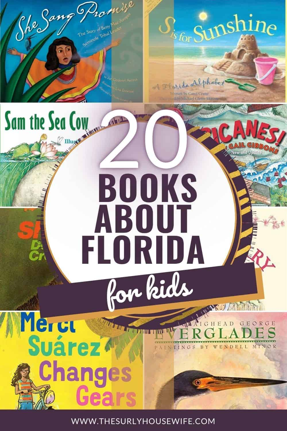 Looking for books about Florida? Don't miss this post for living books about Florida: including fiction, non-fiction, picture books, and chapter books!