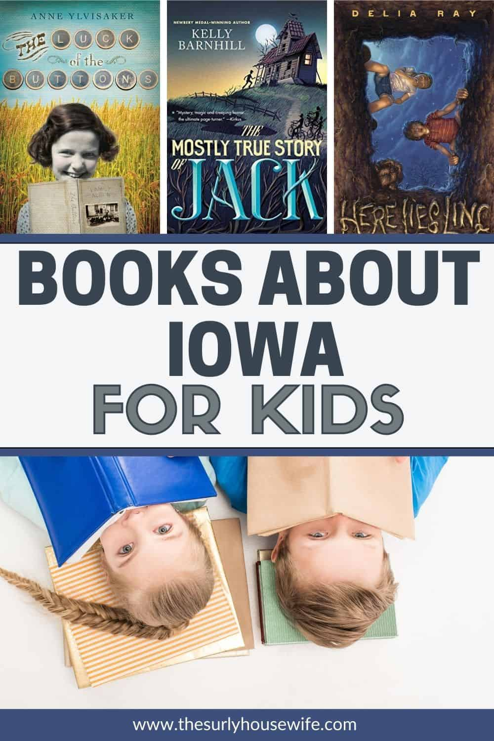 Looking for children's books about Iowa? This post includes picture AND chapter books set in Iowa as well as books about Iowa and its history.