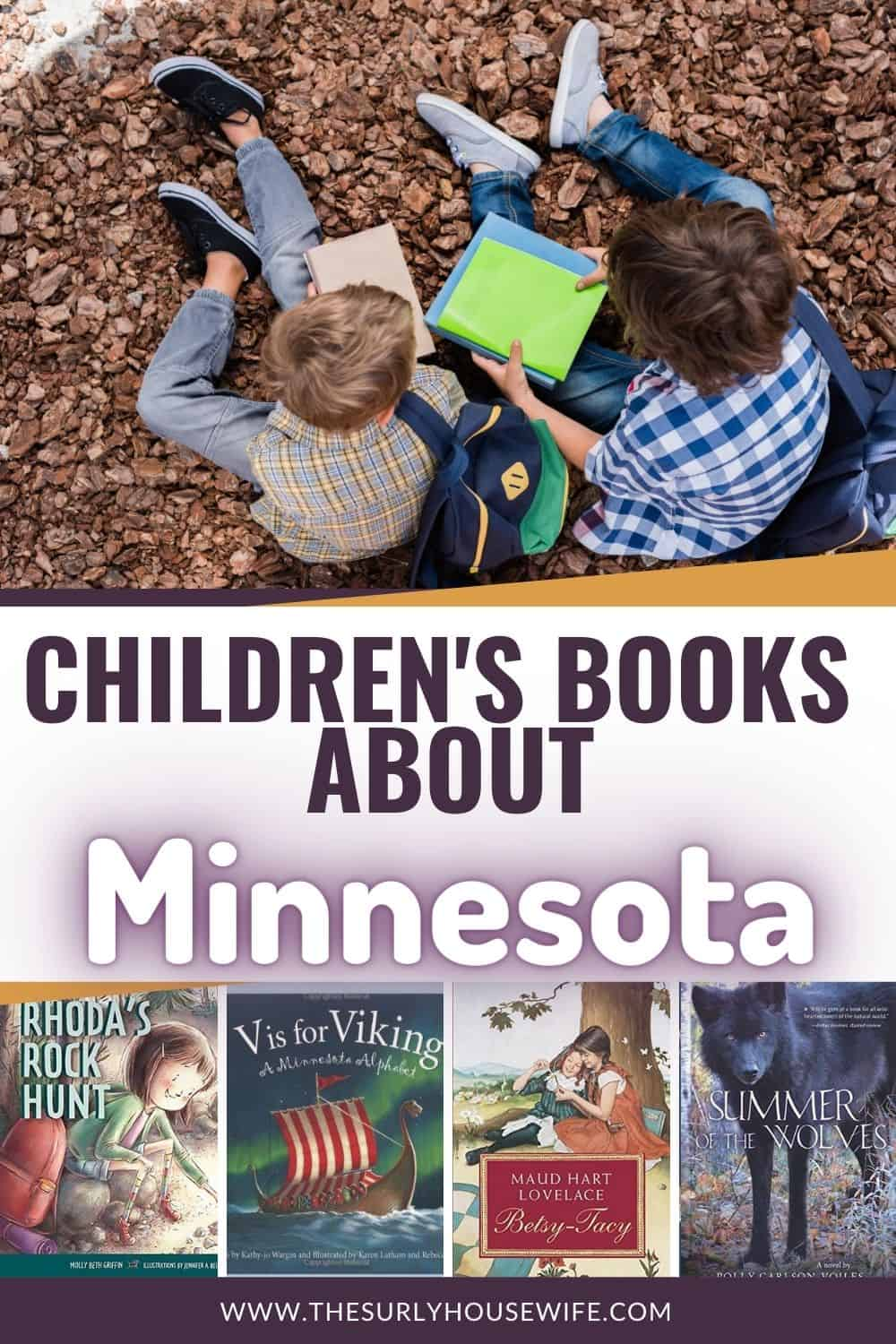 Searching for books about Minnesota? This book list includes pictures books and chapters books about and set in Minnesota!