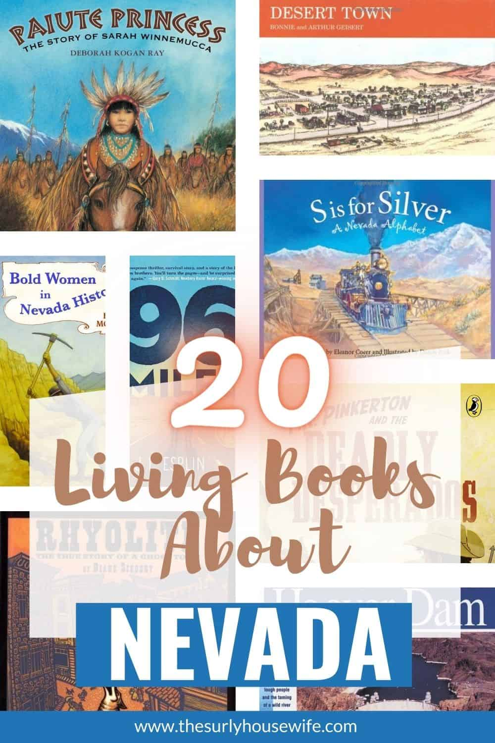 Searching for books about Nevadat? Check out this post picture books and chapter books all about or set in Nevada!