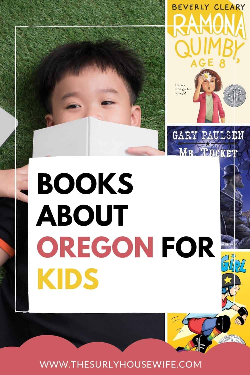 Looking for books about Oregon? Check out this post! It contains children's books, chapter books, and picture books about the Beaver State!