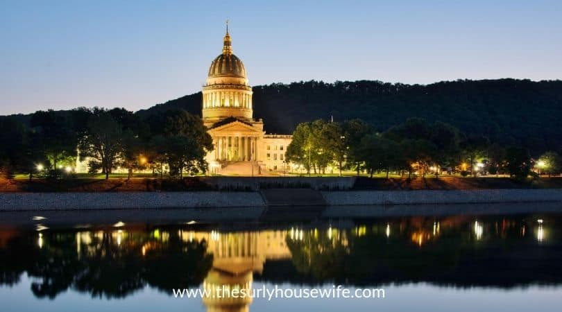 State Capitol in Charleston West Virginia