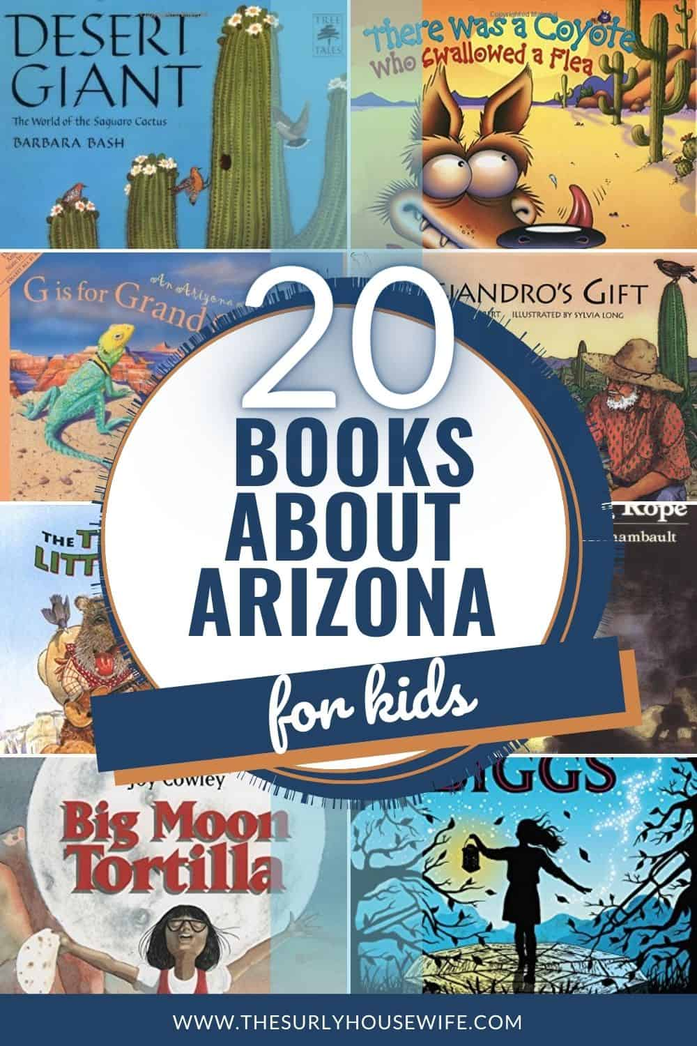 Looking for books about Arizona? Then check out this post! It contains children's books, chapter books, and picture books about Arizona!!