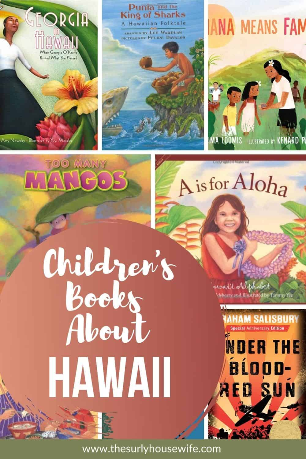 Need children's books about Hawaii? This book list includes picture books about Hawaii and chapter books set in Hawaii.