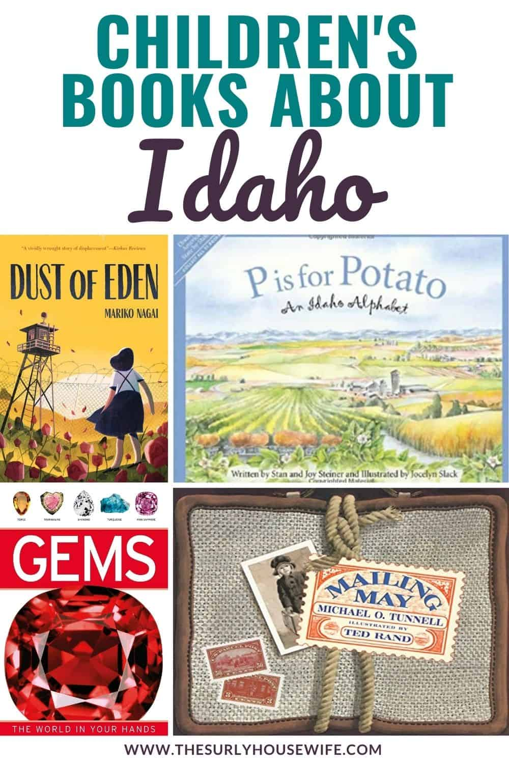Need children's books about Idaho? This book list includes picture books about Idaho as well as chapter books set in Idaho, perfect for a state unit study!